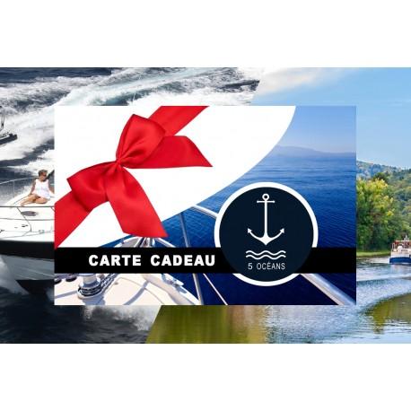 Carte cadeau côtier+fluvial 350€ (Promo jusqu'au 31/01 - Places limitées) à imprimer en 5 min